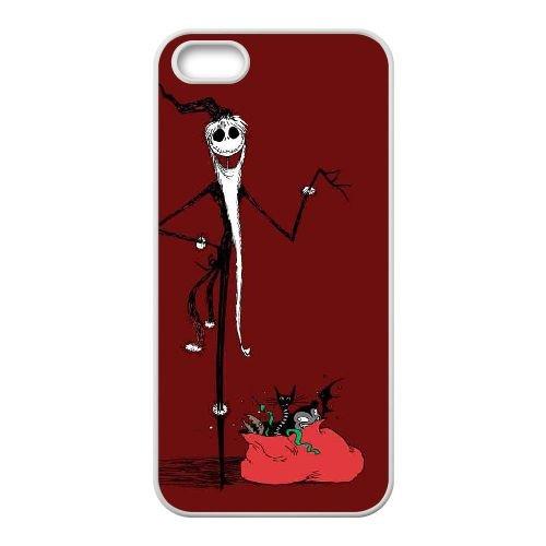 J5W15 The Nightmare Before Christmas N6F8RU coque iPhone 5 5s cellulaire cas de téléphone couvercle coque blanche WZ8YNE0EV
