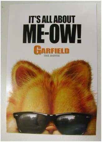 Amazon Com Garfield Movie Poster The Cat Prints Posters Prints