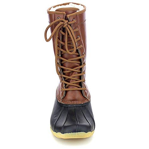 Rain Rubber Duck Waterproof Boots Cognac Hunter Refresh Women's Skimmers xZBIaP