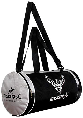 Star X Stamina Gym Bag, Adult Large  Grey/Black
