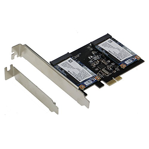 SEDNA - PCI Express Dual mSATA III (6G) - Server Hdd Add On Card