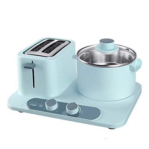 lijunjp Máquina de Desayuno 3 en 1 de Acero Inoxidable, tostadora ...