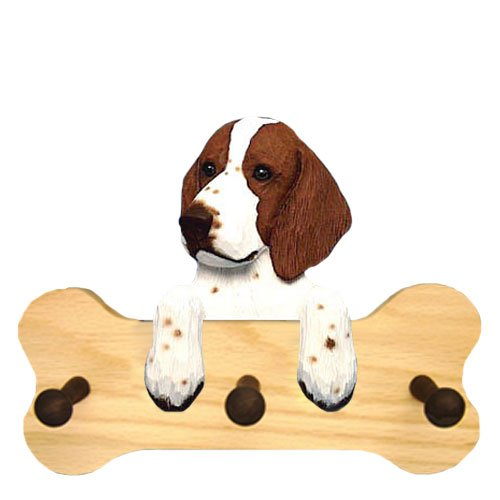 (Michael Park Welsh Springer Spaniel Bone Hang Up Natural Oak)