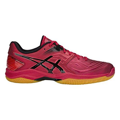 Blast Homme Asics Chaussures Rouge Handball Ff Corail De noir 7xdqU6Hd