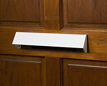 letterbox cowl visor guard home secure letter box cover for extra security white letter box cover
