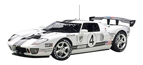 1/18 フォード GT LM レースカー スペックII #4(ホワイト) 80515