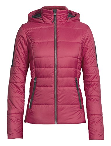 Women's Rose Wild Icebreaker Hthr Stratus Jet Jacket Hooded X dY1wnT