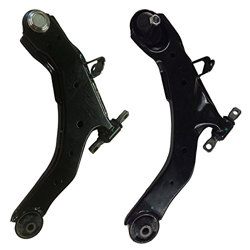 DRIVESTAR K620328+K620327 Pair(2) New Front Lower Control Arms w/ Ball Joints for 01-06 Hyundai Elantra
