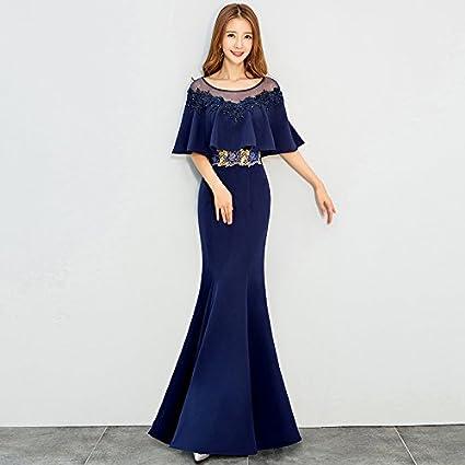 f55da2a72 JKJHAH Vestidos De Noche Mujeres Banquetes Vestidos De Cola De Pez Vestidos  De Fiesta Vestidos