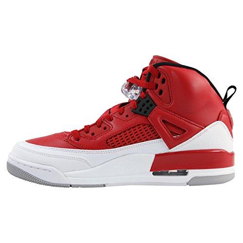 NIKE Herren Jordan Spizike Rot Leder/Synthetik Sneaker 48,5