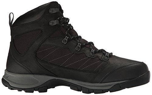 010 Black Camminata Pass Impermeabili da Cascade Uomo Escursioni Red Mountain Columbia per Scarpe per e Nero 1ZFSSq