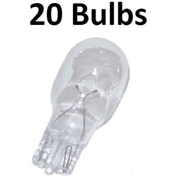20x MALIBU LANDSCAPE BULB 12V 11 Watt ML11W4C Replacement Part Outdoor Lighting