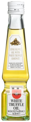 Urbani White Truffle Oil, 8-Ounce Glass Bottles (Pack of 2) by Urbani
