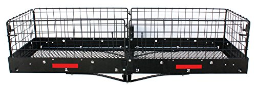 Larin CC-500 Rear Cargo Carrier with Cage Net by Larin