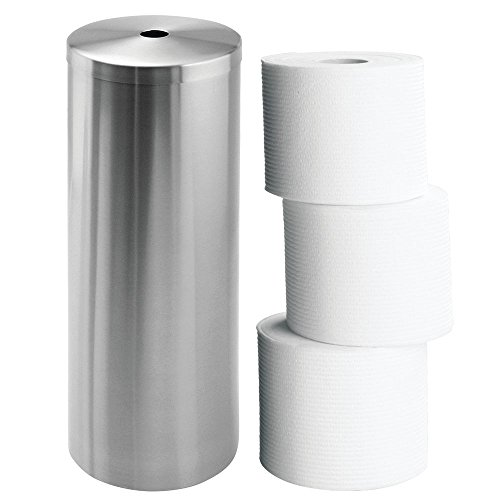 Interdesign forma free standing toilet paper holder for Bathroom accessories kuwait