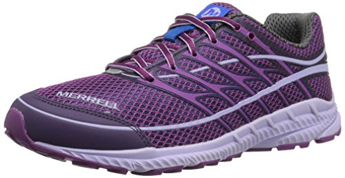 Merrell Women's Mix Master Move Glide 2 Trail Running Shoe, Purple/Racer Blue, 6 M US