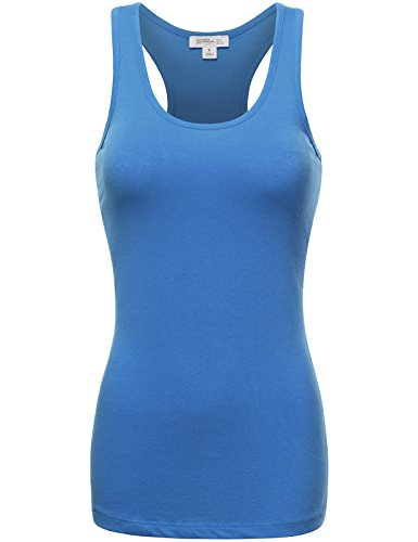 Fifth Parallel Threads FPT Womens Basic Cotton Racerback Tank Top