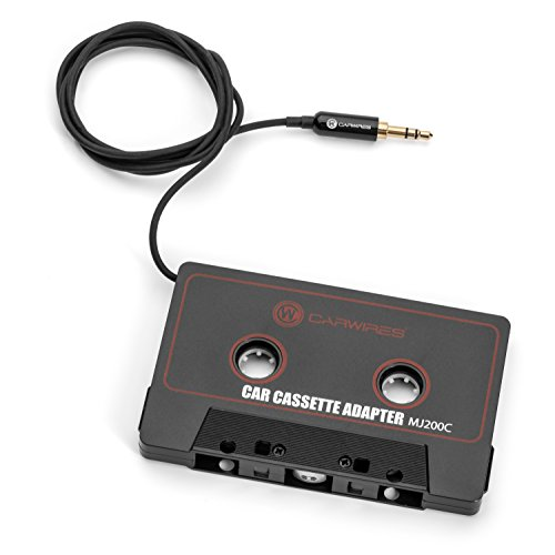 Carwires MJ200C - Premium Car Audio Cassette Adapter (Best Car Cassette Adapter For Iphone)