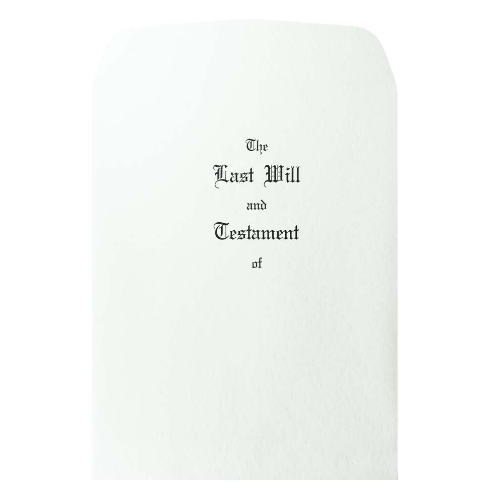 Blumberg Pebble Finish Last Will and Testament Envelopes, Oversized, 100 per Box