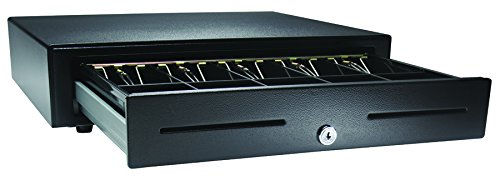 "APG VB320-BL1616 Standard-Duty Cash Drawer, Vasario Series, Multipro 24V, Fixed 5"" x 5"" Till, 16"" x 16"" Size,..."