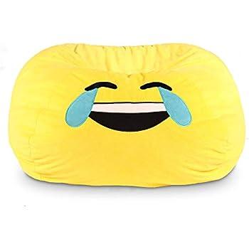 Amazon Com Gomoji 9630301 Emoji Tears Of Joy Bean Bag