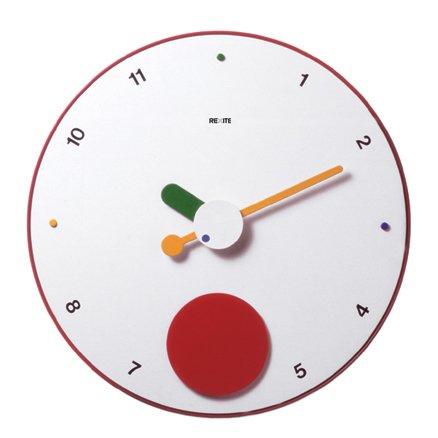 REXITE 掛け時計 大判(ウォールクロック)CONTRATTEMPO(コントラテンポ) ホワイト B00464CJFK ホワイト ホワイト