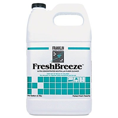 Franklin Cleaning Technology F378822 Fresh Breeze Ultra-Concentrated Neutral pH Cleaner, 1 Gallon (Pack of 4)