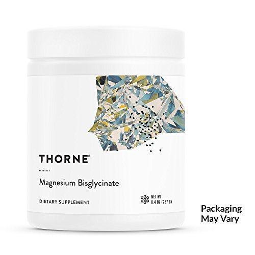 Thorne Research - Magnesium Bisglycinate Powder - to Promote Energy Production, Heart and Lung Function, and Metabolism of Sugar and Carbs - Hint of Citrus - 8.4 oz