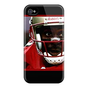 New Premium Flip Case Cover San Francisco 49ers Skin Case For Iphone 4/4s
