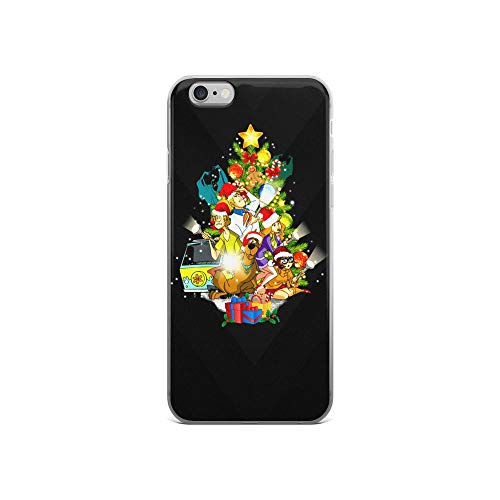 iPhone 6/6s Pure Clear Case Cases Cover Scooby Christmas Xmas Cartoon TPU Compatible Slim]()