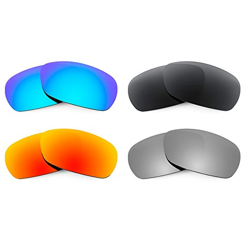 Revant Replacement Lenses for Smith Method 4 Pair Combo Pack - Spoiler Lenses Smith