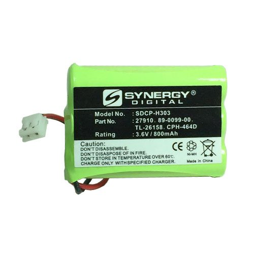 AT&T-Lucent 27910 Cordless Phone Battery Ni-MH 1X3AAA/D, 3.6 Volt, 800 mAh - Ultra Hi-Capacity - Replacement for Rechargeable ()