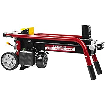 2e3e770350c7 Southland Outdoor Power Equipment SELS60 6 Ton Electric Log Splitter, Red