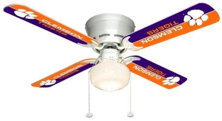Ceiling Fan Designers 7999-CLE New NCAA CLEMSON TIGERS 42 in. Ceiling Fan