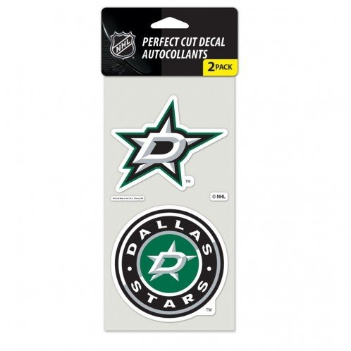 WinCraft NHL Dallas Stars Perfect Cut Decal (Set of 2), 4