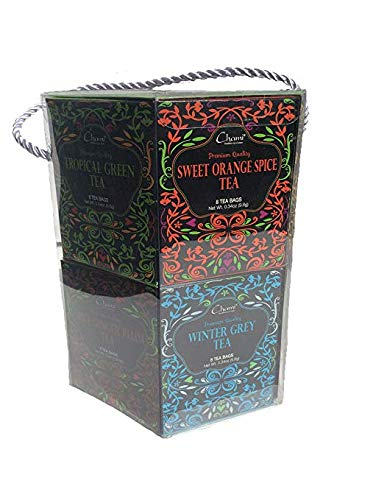 Chami 12 Assortments of Holiday Tea Bags, Healthiest Sip of Nature ()