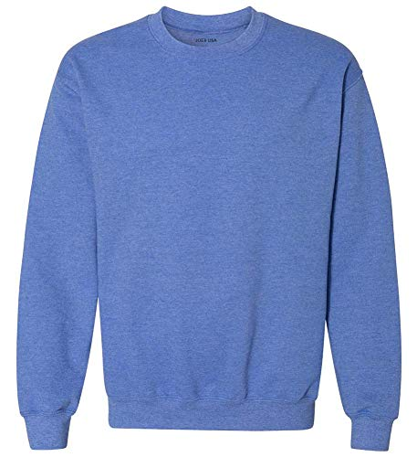 Joe's USA - Mens Soft & Cozy Crewneck Sweatshirts in 33 Colors. Sizes S-5XL