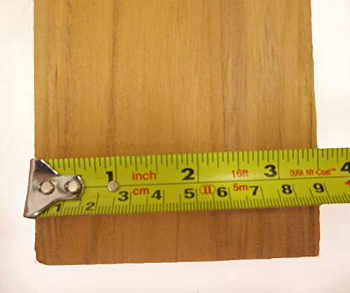 (72 inch Long x 3.5 x 1/2 inch Sanded Teak Wood for Benches spearguns, decking)