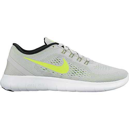 Free Volt Pure Women's Gray Shoes RN Running Platinum Nike Wolf Black Hqwdx1fR