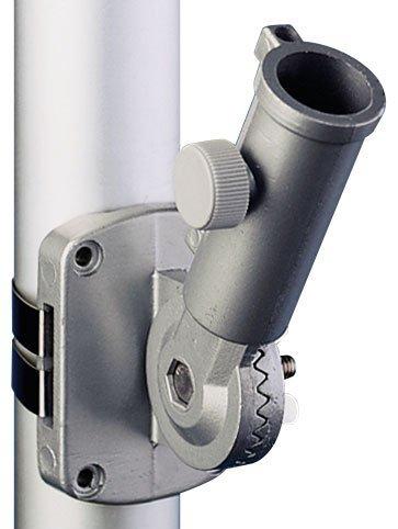 Bracket Ultimate Adjustable Silver Aluminum for 1 Inch Diameter by Eder Flag (Image #3)