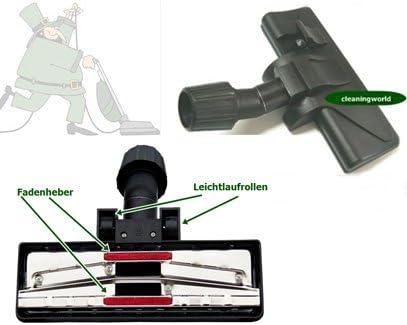 Top duro ugello Bocchetta Parquet per Aspirapolvere Spazzola Ugello Ø 35mm con ruote