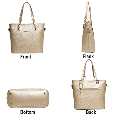 piezas mano wallet Blanco mujer de de de bolso relieve de moda hombro bolso en Bag de la Tisdaini Messenger 6 Bolso EHRw4qHP