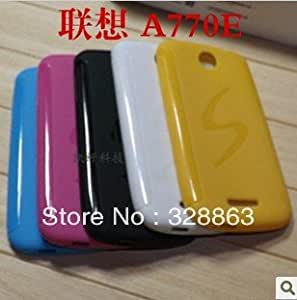 ModernGut New Anti-skid design S Line wave TPU soft Case for Lenovo A770e multicolor pcs/lot