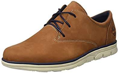 Timberland bradstreet plain toe sensorflex zapatos de for Amazon zapatos hombre