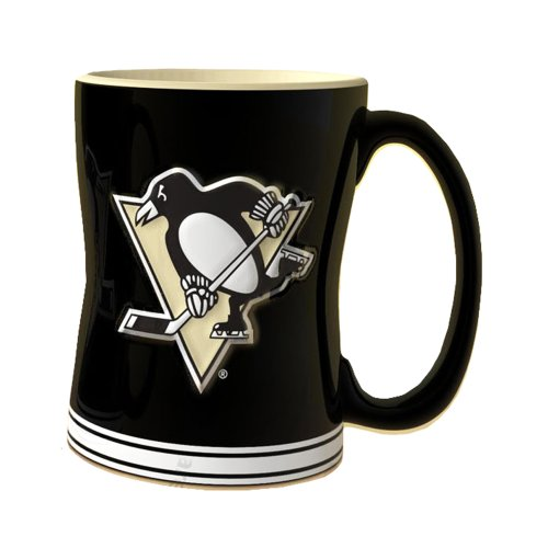 NHL Pittsburgh Penguins Sculpted Relief Mug, - Outlets Pittsburg