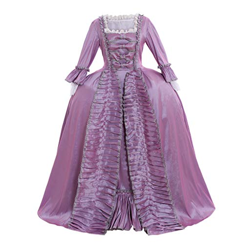 CosplayDiy Women's Rococo Ball Gown Gothic Victorian Dress Costume (XXL, Style C) -