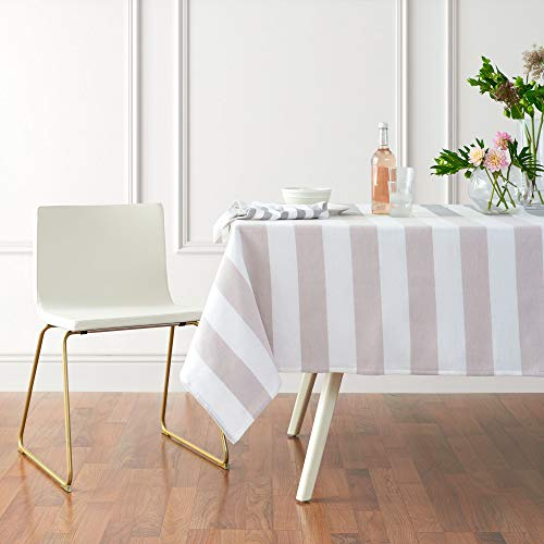 Springtime fabric tablecloth