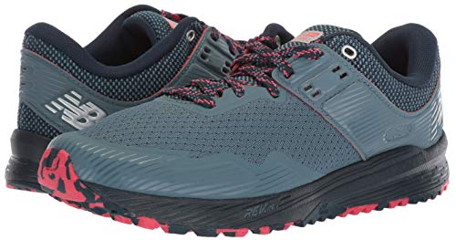 New Balance Women's Nitrel V2 FuelCore Trail Running Shoe Light Petrol/Galaxy/Blossom 6 B US by New Balance (Image #5)