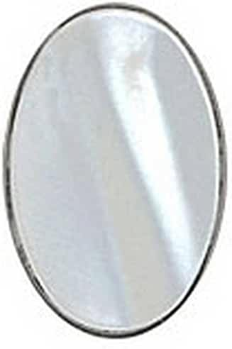 Mother of Pearl Oval Sterling Silver Tie Tac by David Van Hagen