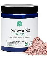 Ora Organic Natural Pre Workout Powder